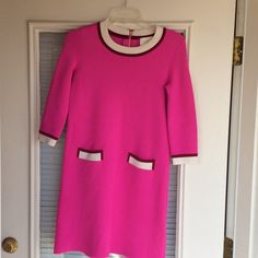 Kate Spade Nara Sweater Dress Beautiful dress! Worn a few times, still great condition!!! Slight piling(2ndpic) Exposed back zipper Unlined Wool/polyamide/elastane Dry clean kate spade Dresses