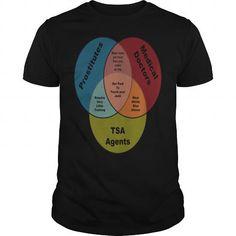 Cool  TSA Prostitutes & Doctors venn diagram Shirts & Tees