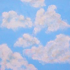 painting clouds on ceiling easy | HOW TO PAINT CEILING CLOUDS