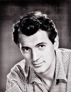 Young Rock Hudson Nostalgia, Film Script, Most Popular Movies, Rock Hudson, Star Wars, Old Hollywood, Classic Hollywood, Best Actor, Famous Faces