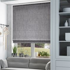 The Different Types Of Window Treatments: Styles of Roman Shades ...