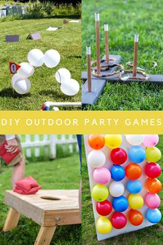 19 Outdoor Party Games Everyone Will Get Hot Over - Peachy Party Golf Party Games, Summer Party Games, Frozen Party Games, Christmas Party Games, Camping Games Kids, Fun Games For Kids, Ninja Turtle Birthday, Ninja Turtle Party, Carnival Birthday Parties