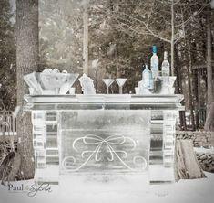 New wedding winter snow romantic Ideas Ice Sculpture Wedding, Ice Hotel, Ice Bars, Wedding Planning Tips, Wedding Ideas, Diy Wedding, Wedding Decor, Dream Wedding, Winter Wonderland Wedding