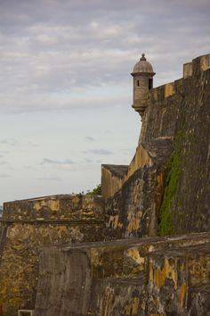 Garita at El Morro in Old San Juan, Puerto Rico