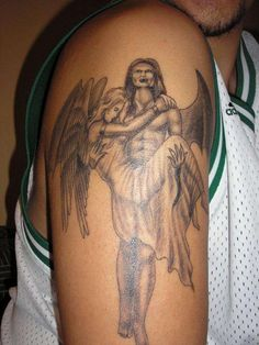 Fallen Angel Tattoos – Designs And Ideas