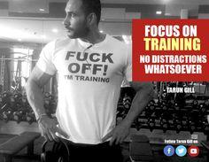 #Focus #Training #LoseWeight #TarunGill #WeightLossSpecialist #FitnessExpert #TransformYourself gilltarun.com