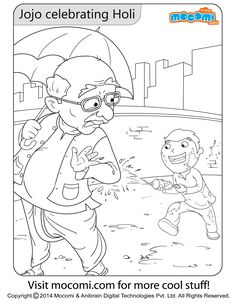 jojo holi online jojo colouringpage for kids free printable coloring pages for - Cool Stuff To Print Out