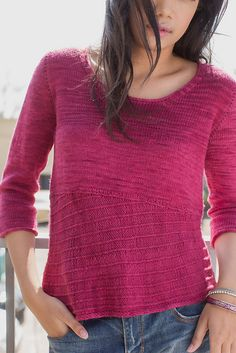 Ravelry: Canted Pullover pattern by Mari Chiba