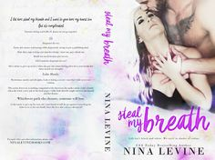 Steal My Breath by Nina Levine✦ #CoverReveal✦ #Excerpt✦ #PreOrder✦#Giveaway (KindleFire, signed paperback of Steal My Breath or a $20 Amazon Gift Card)✦ - iScream Books