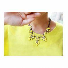 Floral Necklace - Treasure Box £12