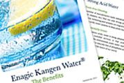 Kangen Water -- ionized alkaline and acidic waters through electrolysis. These waters can be used for various purposes, including drinking, cooking, beauty, and cleaning with health benefits!