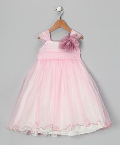 Take a look at this Rose & Ivory Flower Dress - Toddler & Girls by Kid's Dream on #zulily today!