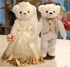 8202b792b38 AmylindaWedding wedding wedding bear couple bears Teddy bear doll lovers  bear TOBy TOME