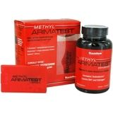 Methyl Arimatest is a testosterone supplement that increase energy level and sex drive. It works adequately.