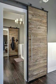 Barn door Hardware, greys