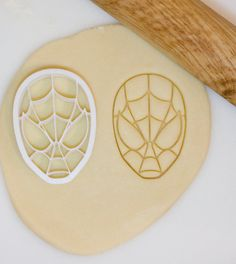Spiderman Cookie Cutter by HomePrint3D on Etsy, $8.00
