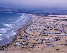One of the very few beaches in California that you can camp, make a bonfire, ride ATV's, off road!!!! Pismo Beach