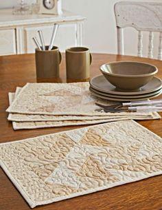 Everyday Elegance (Free Place Mat Patterns)
