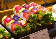 """母の日に""""食べられる花""""を! 新宿伊勢丹「スシ・アベニュー・ケイズ」で発売 3枚 #edible flower"""