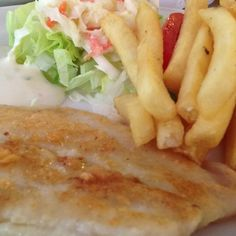 Healthy Grilled Dory Fish