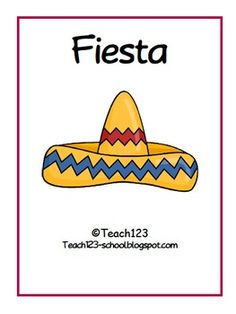 FREE - Fiesta activities that would be great for Cinco de Mayo.