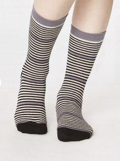 Dutch houses cadeau doos met 4 paar bamboe dames sokken