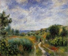 Landscape near Essoyes - Pierre Auguste Renoir - The Athenaeum