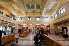 Interior of the Pacific Central Station in Vancouver - from the Oldest Buildings in Vancouver Photo Essay http://jaybanks.ca/vancouver-blog/2014/03/17/heritage-buildings-vancouver/