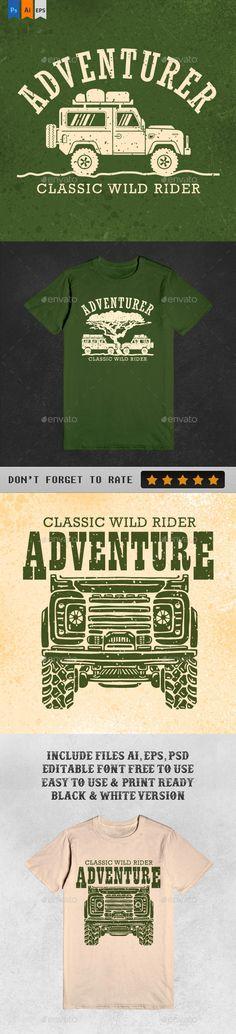 3 Ultimate Adventure Tshirt illustration Design. Download: http://graphicriver.net/item/3-ultimate-adventure-tshirt/12749622?ref=ksioks