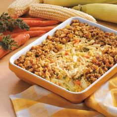 Crunchy Chicken Casserole     ~ Fast all-in-one meal ~