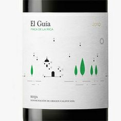 Adorable wine labels for Finca de la Rica wines by Dorian.