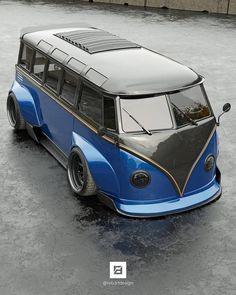 "Vedder 🇦🇺 on Instagram: ""Thanks @rob3rtdesign"" Volkswagen Minibus, Volkswagen Group, Vintage Volkswagen Bus, Kombi Pick Up, Vw Wagon, T1 Samba, Combi Split, Combi Vw, Jeep Suv"