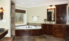 Hermitage Shores Master Bath with Walk-in Shower