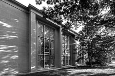 Andrews Library; College of Wooster; Ohio; A perfect example of mid-century modern architecture.
