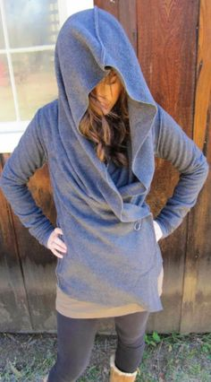 fleece yoga wrap....can be worn 5 different ways.