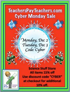 TeachersPayTeachers.com Cyber Monday Sale!!