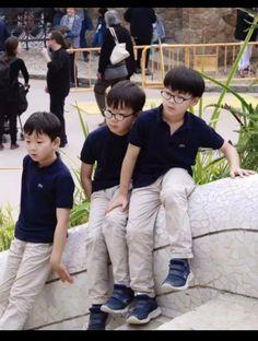 Triplet Babies, Superman Kids, Korean Tv Shows, Song Triplets, Song Daehan, Korean Babies, Cute Faces, Cute Kids, Ulzzang