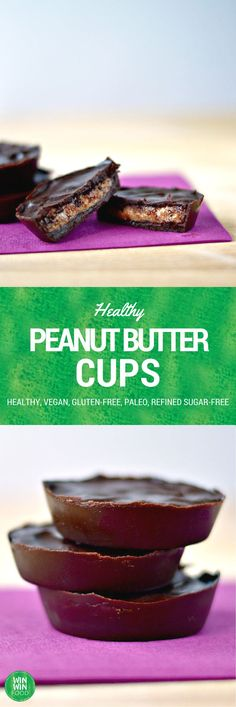 Healthy Peanut Butter Cups