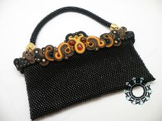 Beaded/soutache bag by Alina Tyro-Niezgoda tenderdecember.eu