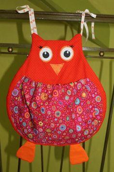 range pyjama chouette de naniecousette