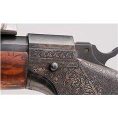 H.M. Pope Barreled Marlin Ballard Target Rifle