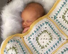 Crochet Blanket Pattern  Arielle's Square  Crochet Baby
