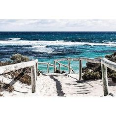 size: Stretched Canvas Print: Rottnest Island Beach Walk : Artists Using advanced technology, we print the image directly onto canvas, stretch it onto support bars, and finish it with hand-painted edges and a protective coating. Mirrored Wallpaper, Wall Wallpaper, Pictures For Sale, Beach Pictures, Art Bleu, Library Images, Beach Walk, Island Beach, Painting Edges