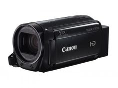 The Canon VIXIA Camcorder in Black is a hand-held digital camcorder with image stabilization. This Canon camcorder has a megapixel full HD CMOS image sensor and captures video at 1920 x Best Vlogging Camera, Best Camera, Camcorder, Carte Sd, Optical Image, Full Hd Video, Flash Memory, Flash Photography, Shopping
