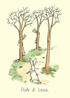 Bunnies at play . . .