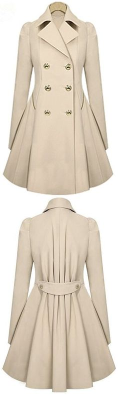 You can't go this fall without a comfortable and classic coat! And this is that favorite coat! It's not too thick which makes it perfect for the changing fall weather! Plus, the style of this one is super trendy! Get more surprised ones at Cupshe.com !
