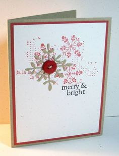 Rustic Snowflakes by janellelarson - Cards and Paper Crafts at Splitcoaststampers