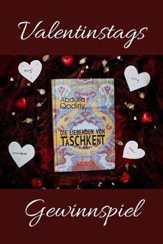 """Gewinne """"Die Liebenden von Taschkent"""" von Abdulla Qodiriy und ein Überraschung aus Usbekistan. #gewinnspiel #valentinstag #abdullaqodiriy #taschkent #usbekischeliteratur Posts, Blog, Games, Messages"""