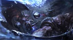 ArtStation - Preseason key art-League of legends, Suke ∷