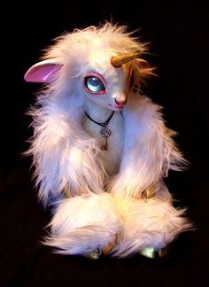 Unicorn OOAK Art Doll by savicorn.deviantart.com on @deviantART
